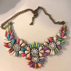 Multi color Chunky Necklace